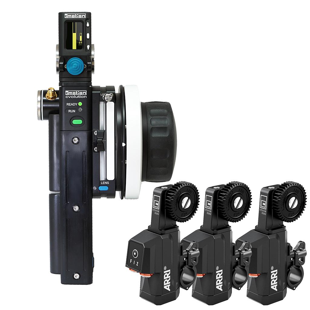 cvolution Alexa mini Starter Kit basic 3-Motor